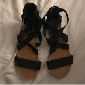 Shoes - steve madden girl gladiator sandals